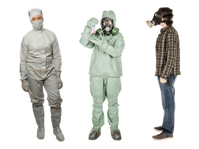 examples of chemical protective clothing and safety suits