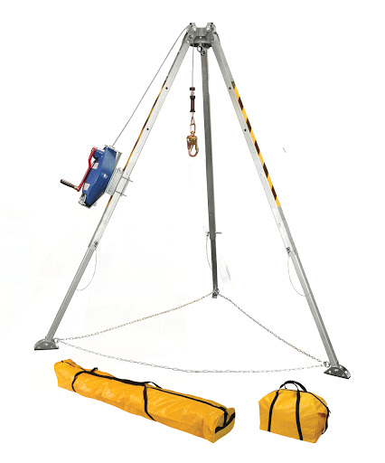fall protection tripod