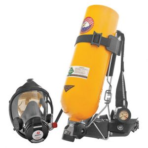 respirator tank and equipment