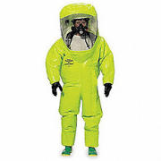 protective suit life support system for respiratory protection