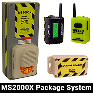 lone worker ms2000x package system